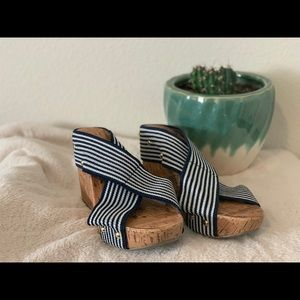 "NEW wedges 4"", size 7"